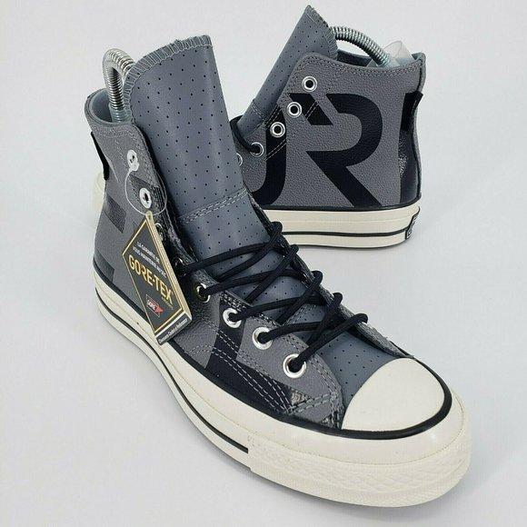 Converse Men's Chuck 70 Hi Gore-Tex Leather Grey